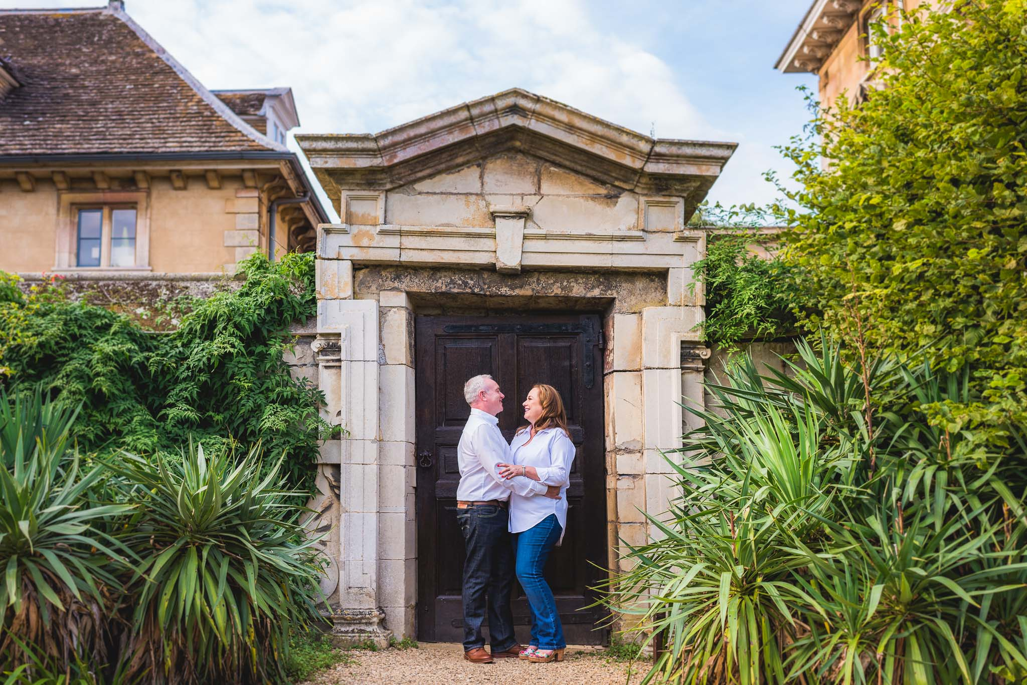 Thorpe Hall pre-wedding shoot – Susan & Richard